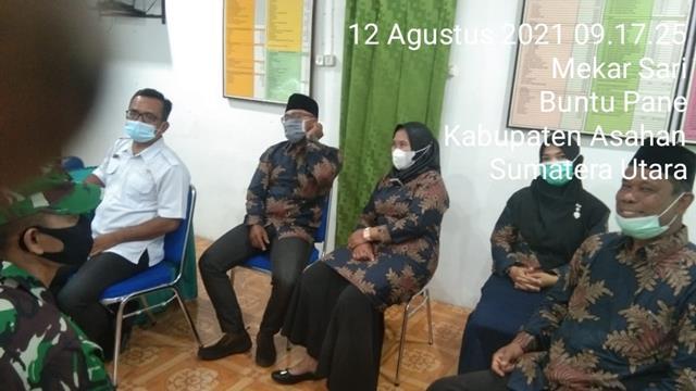 Jalin Silaturahmi Dengan Tokoh Masyarakat, PErsonel Jajaran Kodim 0208/Asahan Laksanakan Komsos