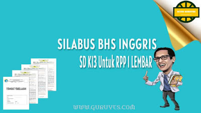 Download silabus Bahasa Inggris Kurikulum  Silabus Bahasa Inggris Kelas 5 SD Semester 1-2