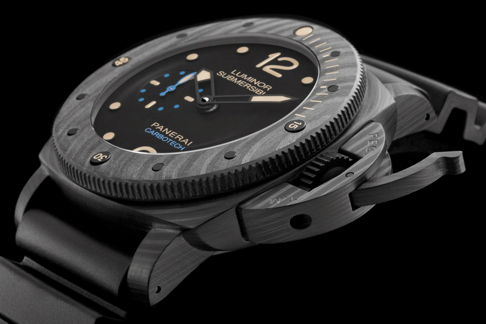 Panerai Luminor Submersible 1950 CarbotechTM 3 Days Automatic - 47mm, Reference: PAM00616