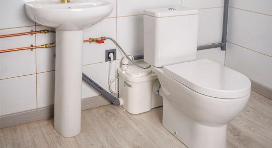 Marzua trituradores de wc y bombas de evacuaci n for Bomba inodoro