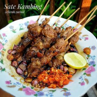 Menu Ramadhan - Sate Daging Kambing Special