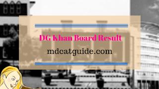 9th Class Result 2019 D G Khan Board