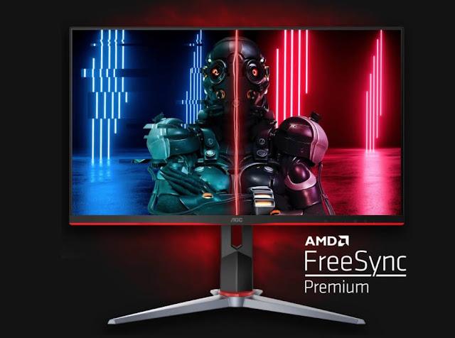 AOC 24G2 Monitor HDR Terbaik Yang Layak Untuk Dibeli
