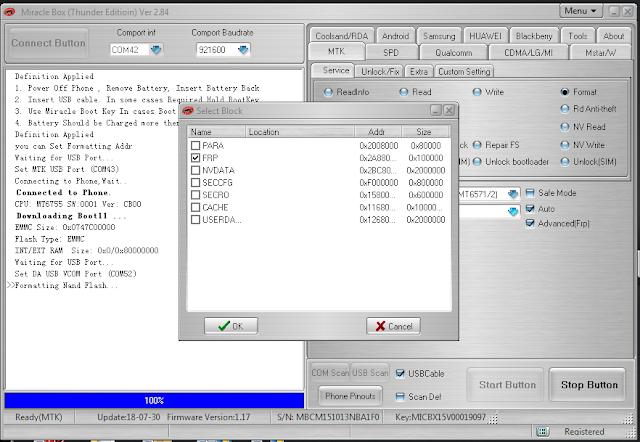 Vivo y66 frp lock reset success with miracle box v2 84