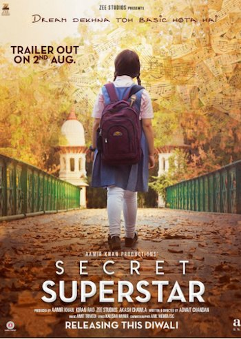 Secret Superstar 2017 Theatrical Trailer Download