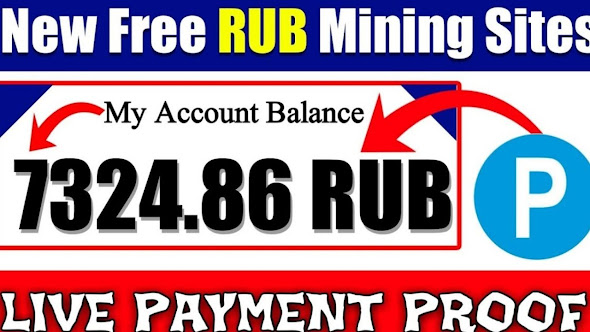 Free Rub earning and cloud mining site 2020