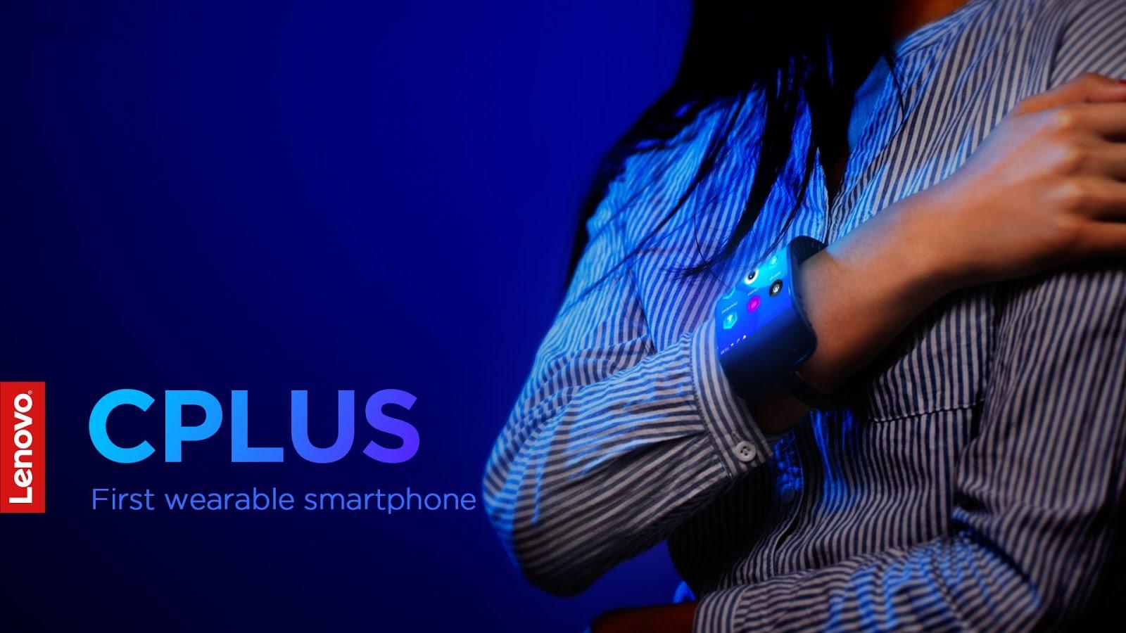 Lenovo Cplus dan Folio, teknologi layar lipat