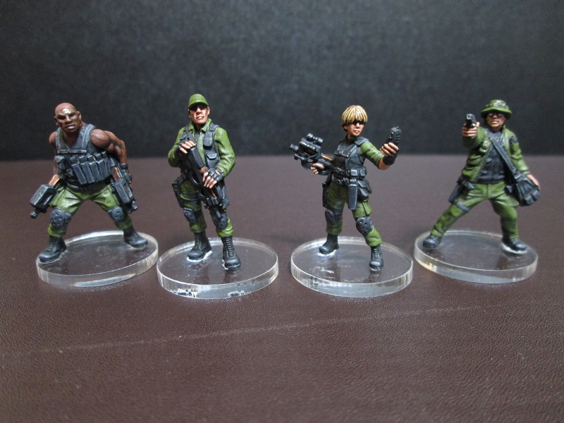 Crucium Giger's Miniatures Blog: Project Stargate: Complete