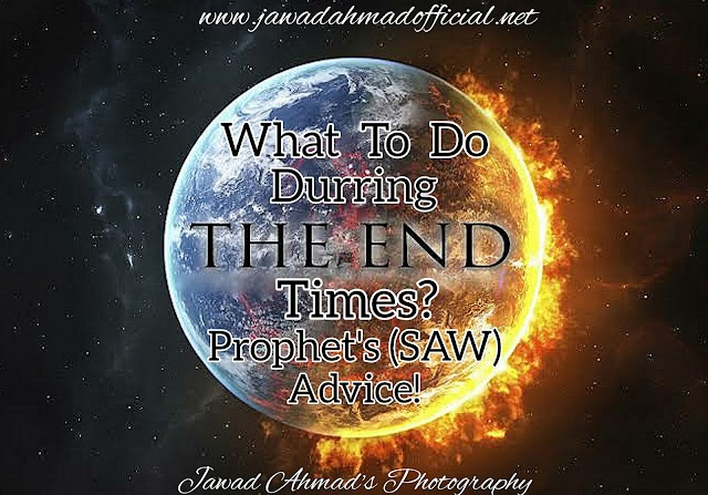 What To Do Durring The End Times | Prophet's (SAW) Advice