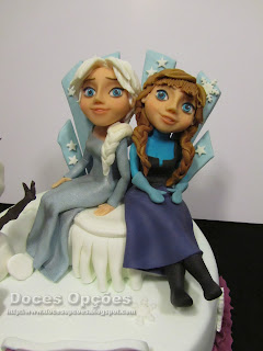 frozen princess disney cake