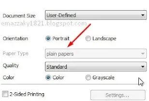 solusi epson l120 tidak bisa cetak kertas foto