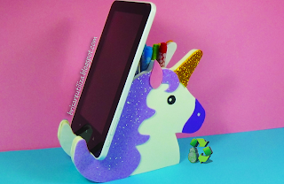 Unicornio 🦄 Lapicero y soporte para movil/tablet