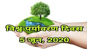 विश्व पर्यावरण दिवस 2020 | World Environment Day Essay in Hindi | Time for Nature