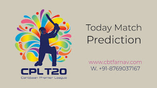 St Kitts And Nevis Patriots vs Trinbago Knight Riders CPL Twenty 20 27th 100% Sure Match Prediction