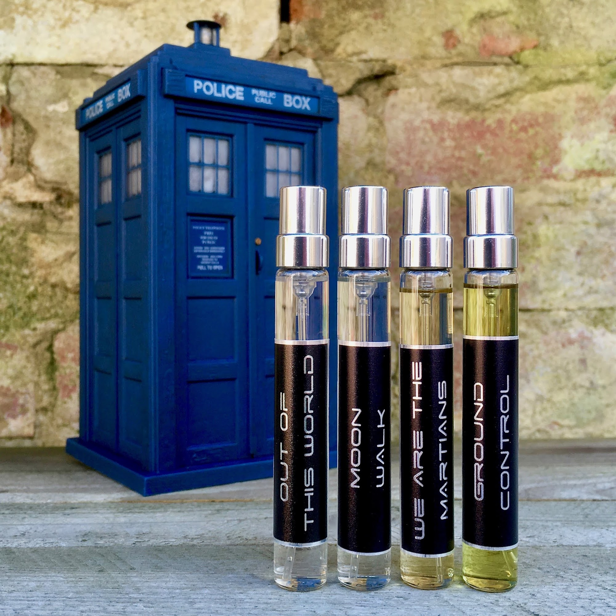 Marina Barcenilla Out Of This World Fragrances Doctor Who Tardis
