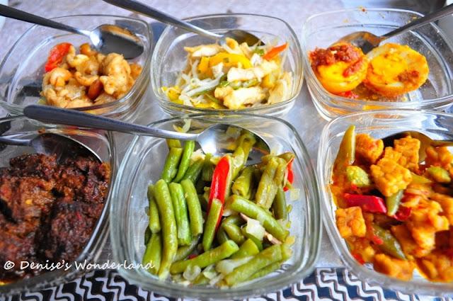 Side dishes for Rijsttafel