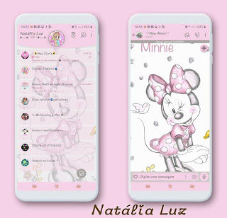 Minnie Theme For YOWhatsApp & Fouad WhatsApp By Natalia Luz