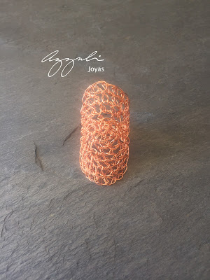 tejido en cobre