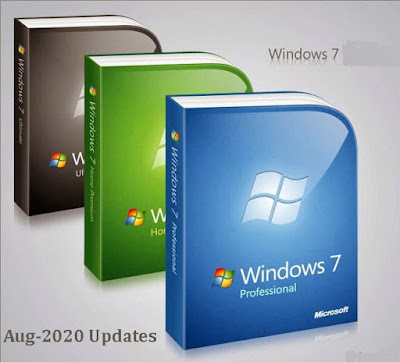 Windows 7 All Versions Aug-2020 Updates