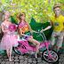 .: Donatella Fisherburg, Auden P!nk e Barbie Sonho de Férias curtem dia de Barbie Estrela [Bastidores]
