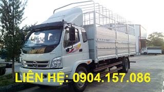 Xe Thaco Ollin 800A tải trọng 8 Tấn Hải Phòng