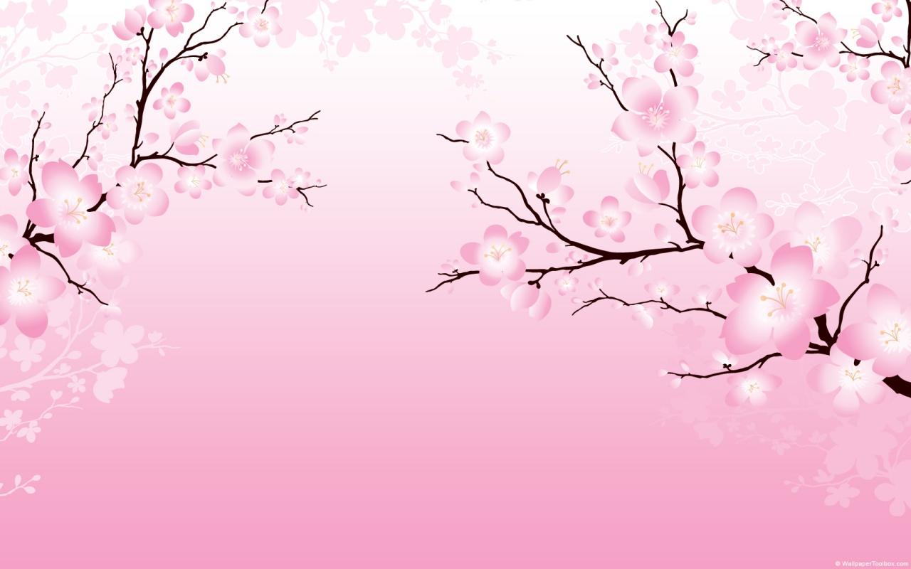 3d Neon Desktop Wallpapers Cherry Blossom Japanese Flowers Wallpapers 1280 X 800
