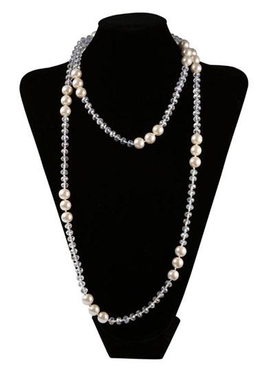 Okajewelry Show 13 Ways To Wear A Long Pearl Necklace