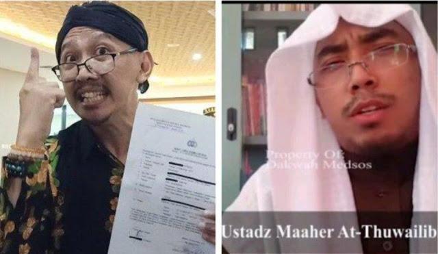 Ustadz Maaher Abu Janda