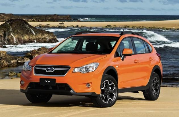 Giá xe ô tô Subaru 2014