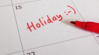 الاثنين القادم 7 يناير 2019 اجازة رسمية بمصر بمناسبة عيد الميلاد في مؤسسات القطاع العام والمدارس والجامعات