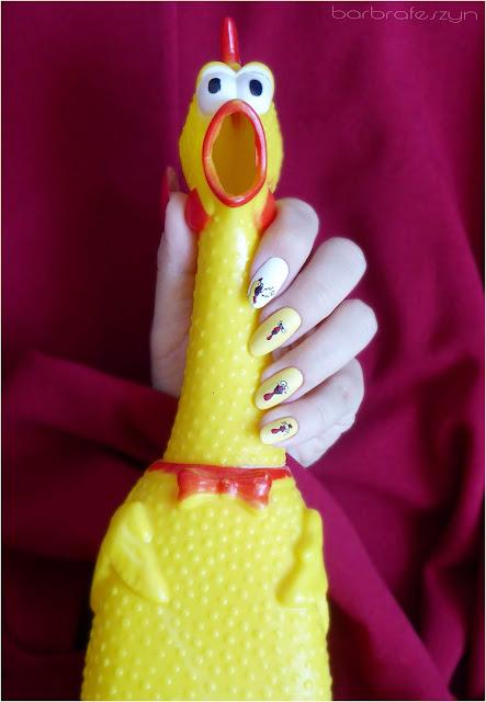 zabawka kurczak