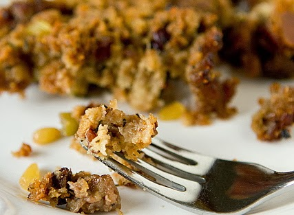 The Fully Fed Recipes Cranberry Pine Nut Dressing With Sage Sausage