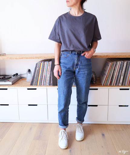 Un Tee-shirt Oversize, premier essai... (Patron Maison) par m Gg++