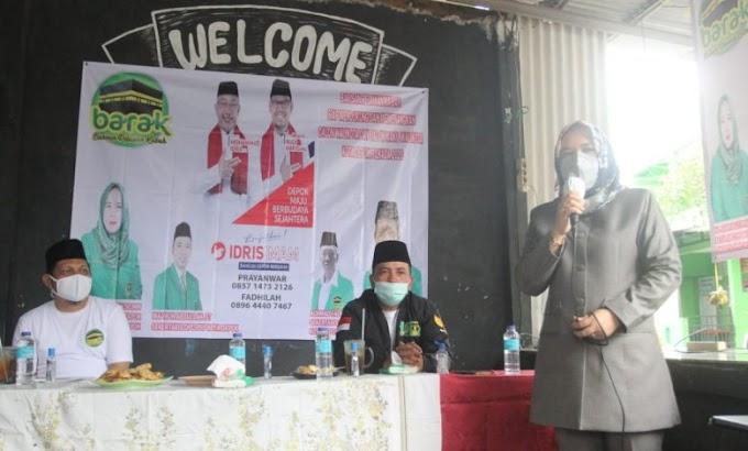 Barak Deklarasi Dukung Idris-Imam