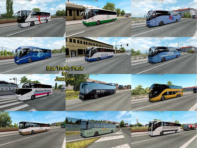 ets 2 bus traffic pack v6.8 screenshots 1