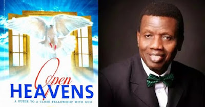 Open Heaven Tuesday 6 December 2016:- Love: an antidote of death