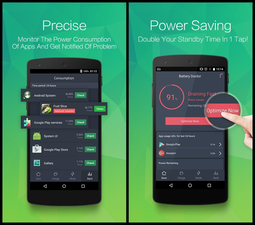 aplikasi penghemat baterai dan pengisian cepat
