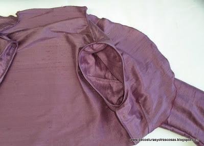 chaqueta torera sin forro