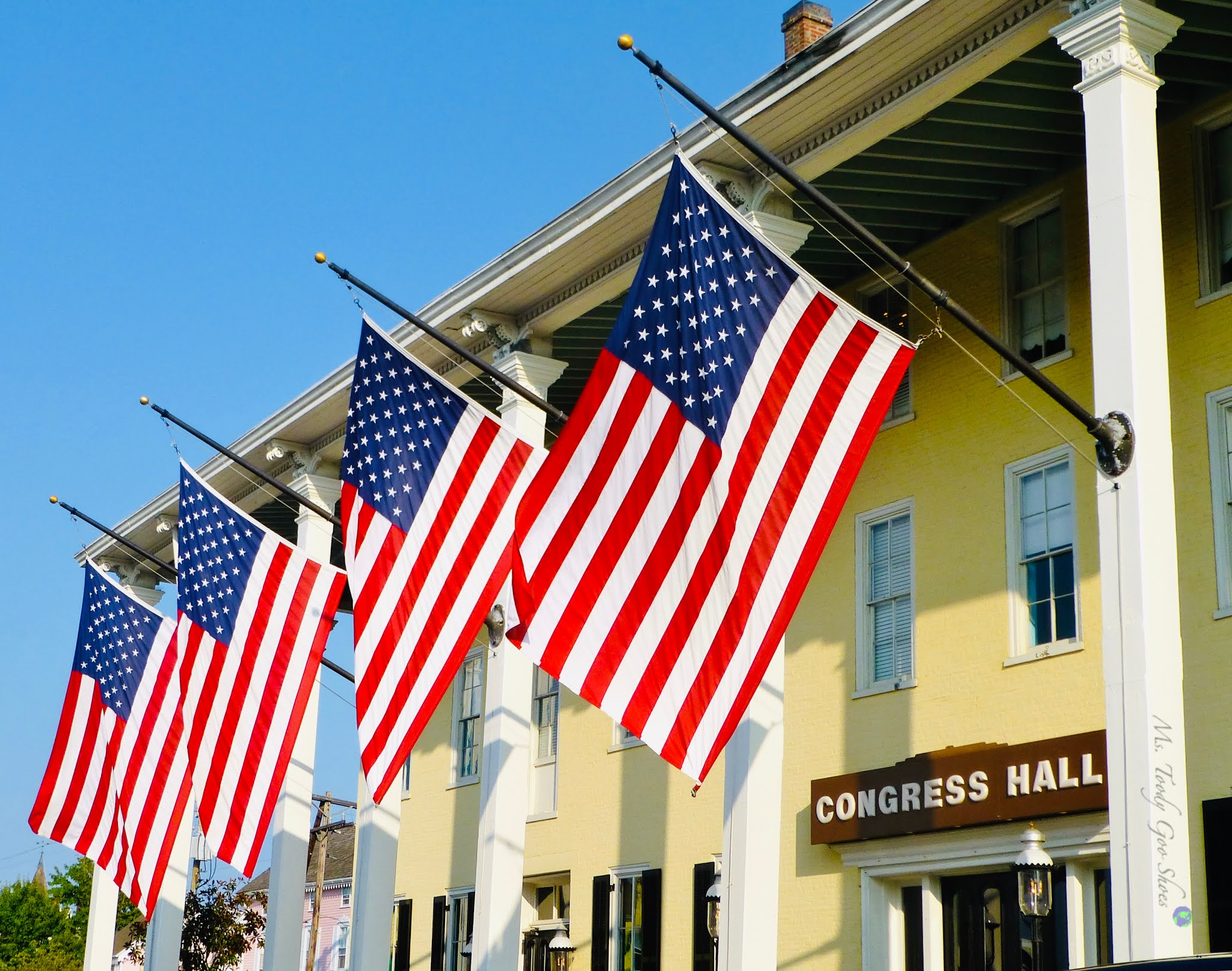 American Flags, Cape May, NJ | Ms. Toody Goo Shoes