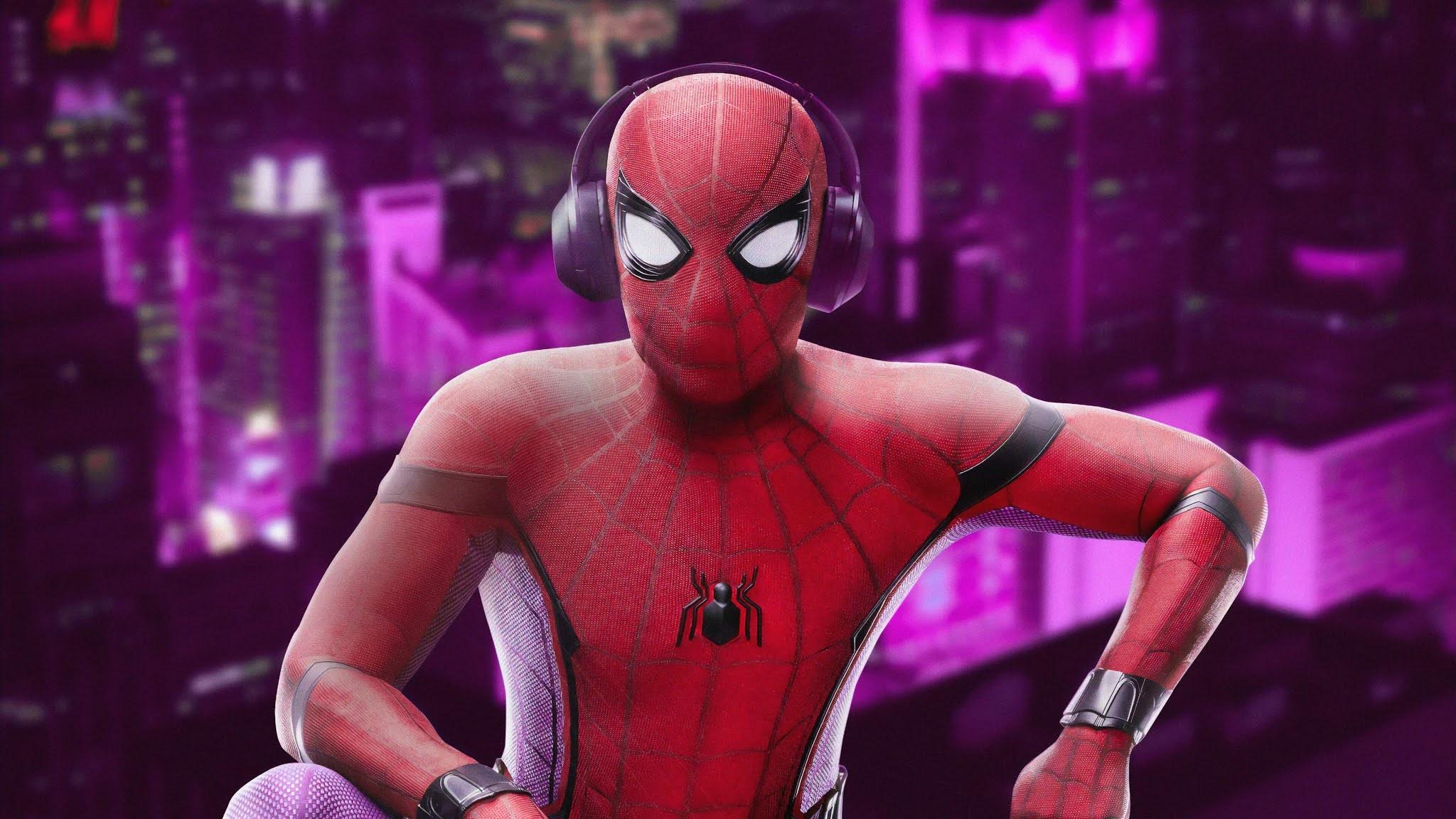 Pc wallpaper spider man
