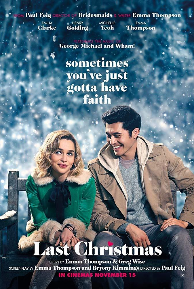 Last Christmas 2019 1080p Español Latino poster box cover