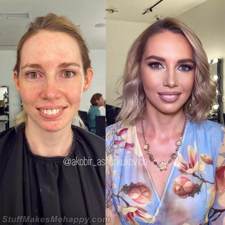 Striking Examples of How the Right Makeup Can Transform a Woman