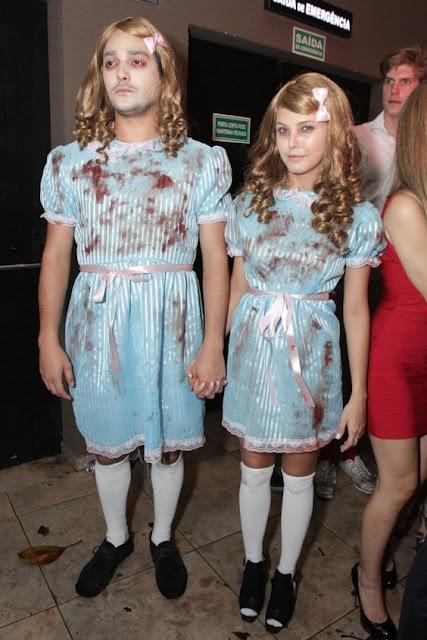 looks halloween casal