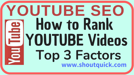 Youtube Seo: Ranking Factors for Youtube Videos on Search