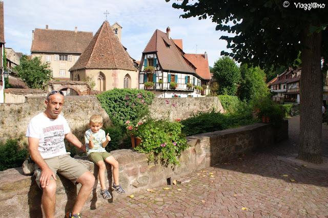 Uno dei paesi più belli d'Alsazia è Kaysersberg