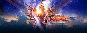 CAPTAIN MARVEL (Capitana Marvel) Banner HD 4K