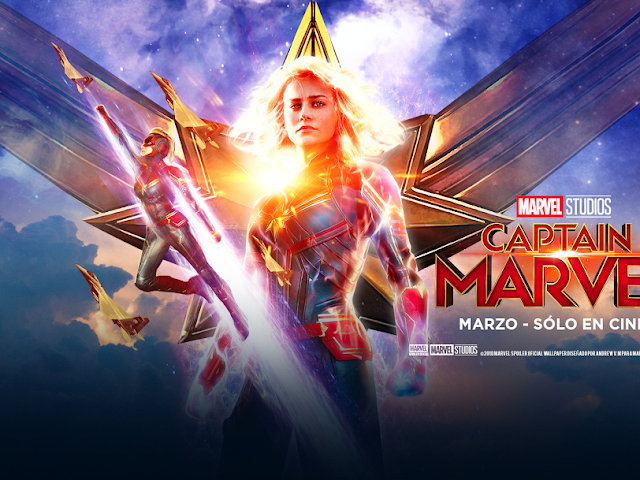 CAPTAIN MARVEL (Capitana Marvel) Banner HD 4K