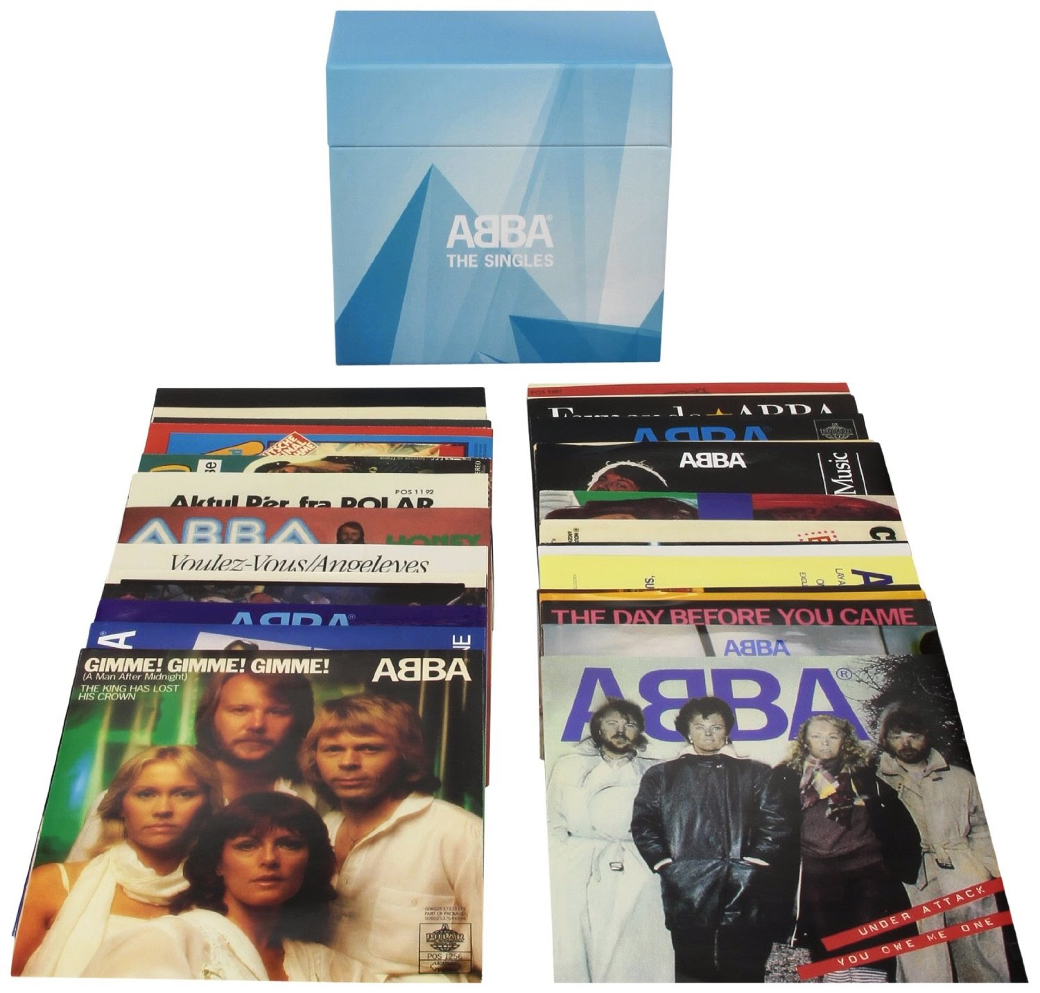 New ABBA Release  40 Vinyl Singles Box Set  Update.7 Nhac Happy New Year Abba 2014