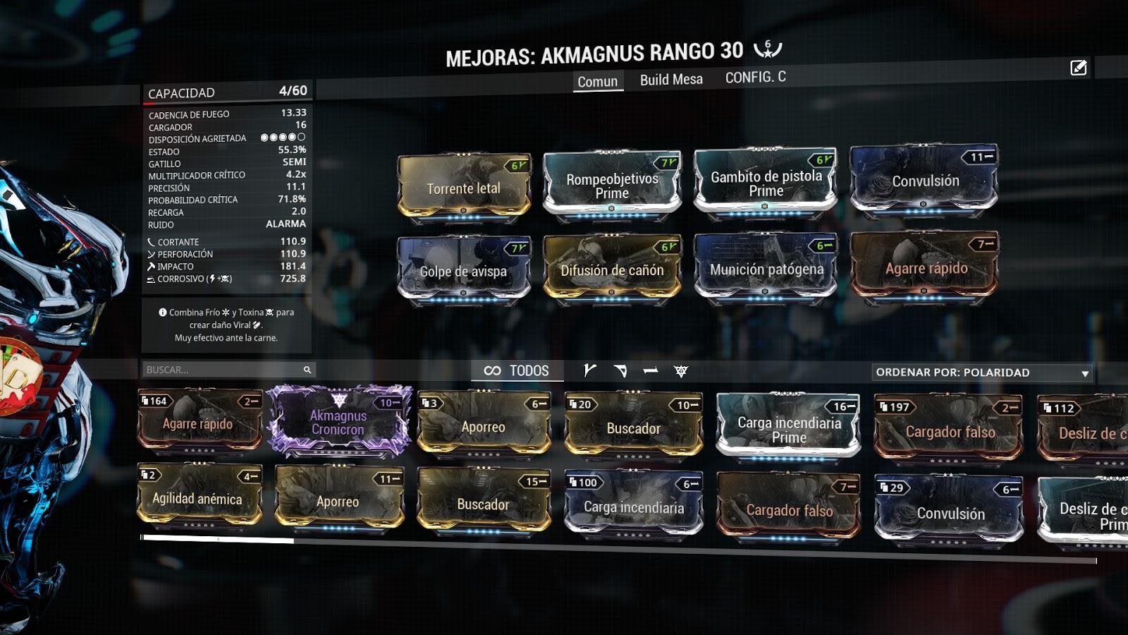 Akmagnus Build
