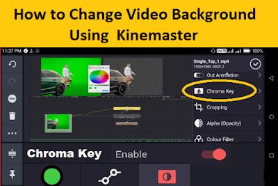 Change Video Background on Kinemaster